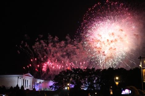 Non stop fireworks
