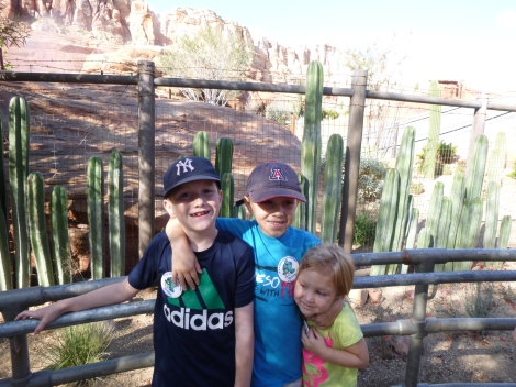 Radiator Springs Racers with my cousins