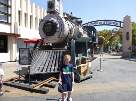 Locomotive used in filming the Lone Ranger