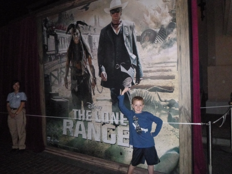 Lone Ranger World Premier at California Adventure